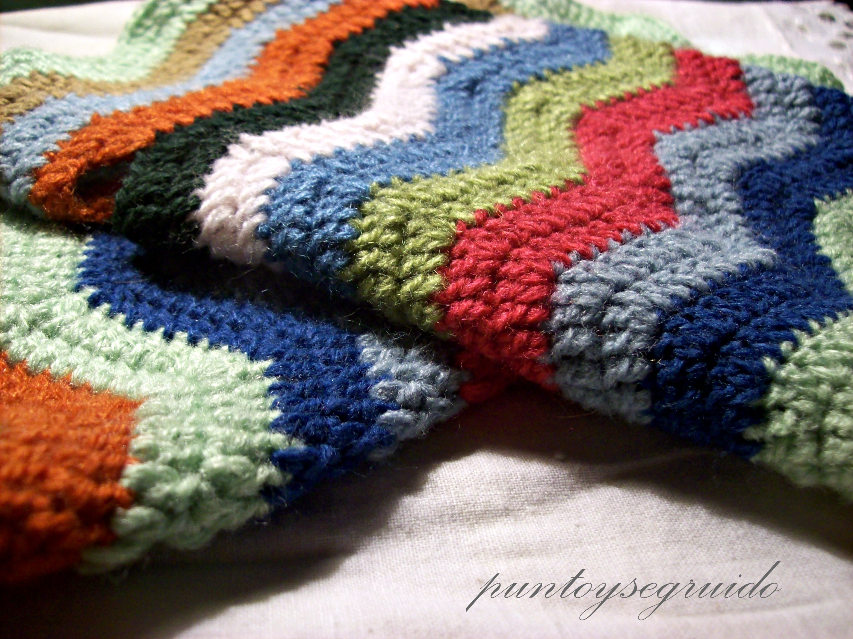 Knitted Zig Zag Afghan | Afghan Pattern | Free Knitting Patterns